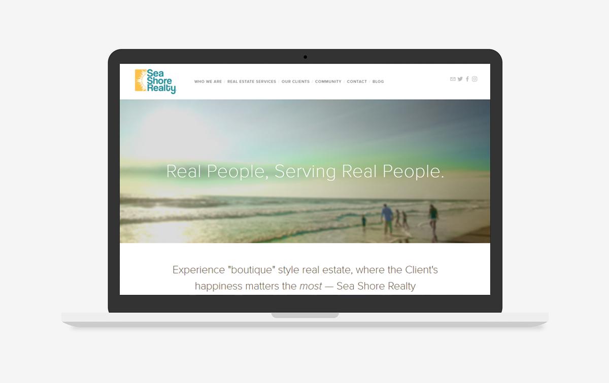 Sea Shore Realty Web Design