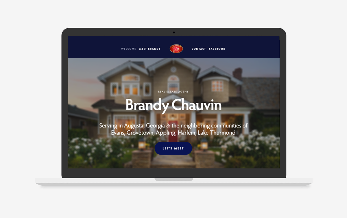 Brandy Chauvin Realty Website Design