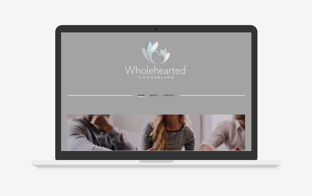 Wholehearted Counseling Website Design