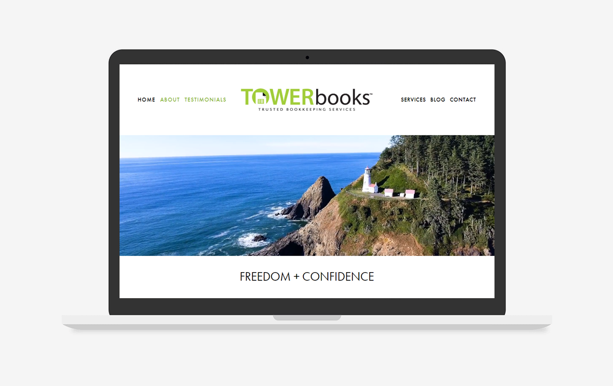 Towerbooks Website Design