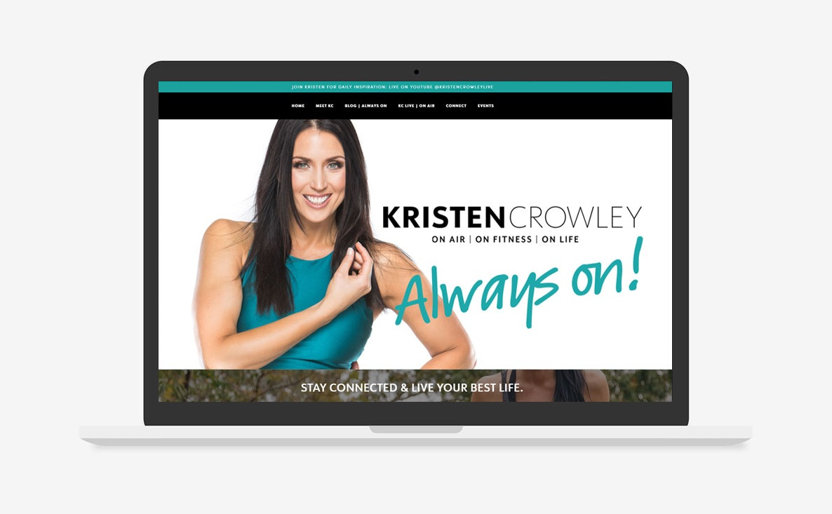Kristen Crowley, Website Design