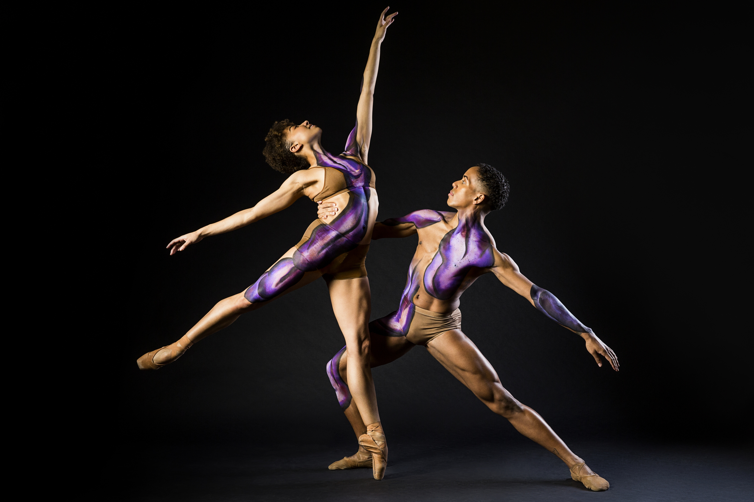 Stephanie Williams (Dance Theatre of Harlem) and Daniel Harder (Alvin Ailey American Dance Theater)