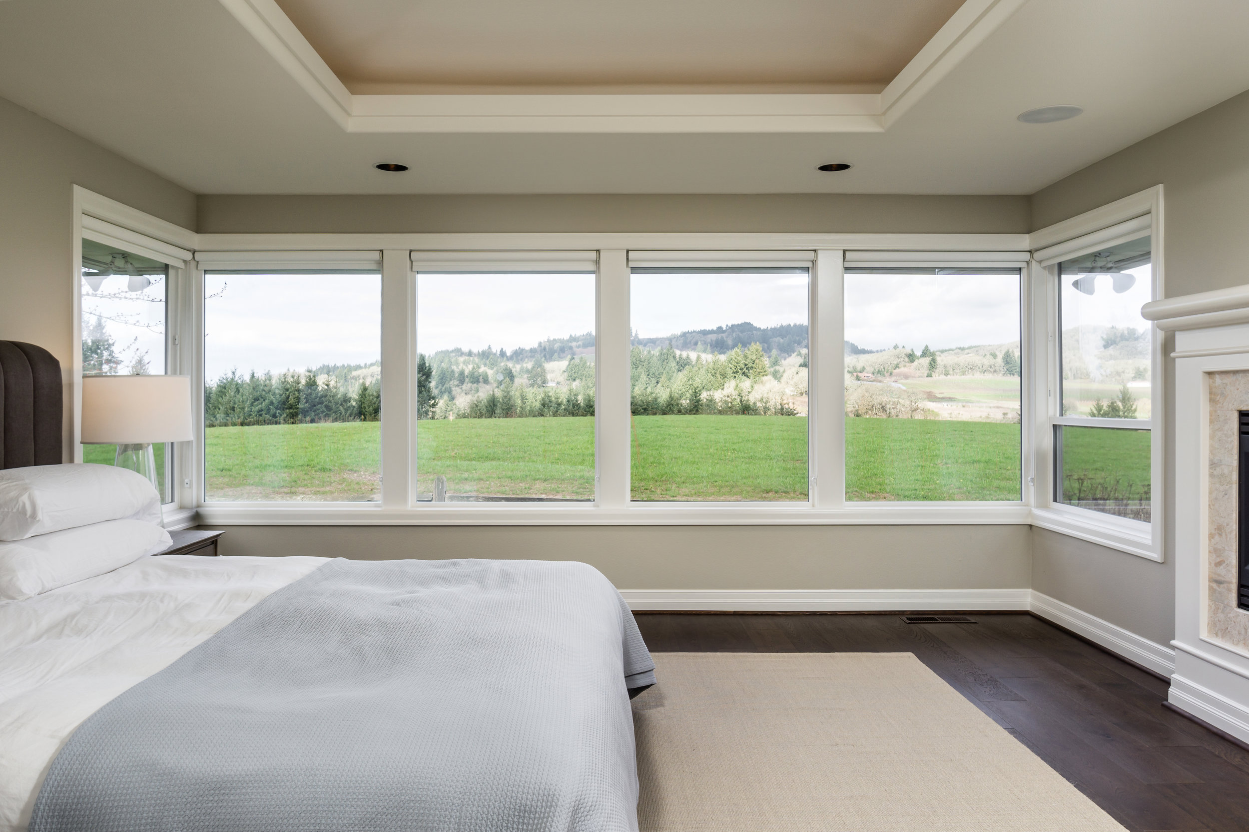 Four incredible Master Bedroom suites