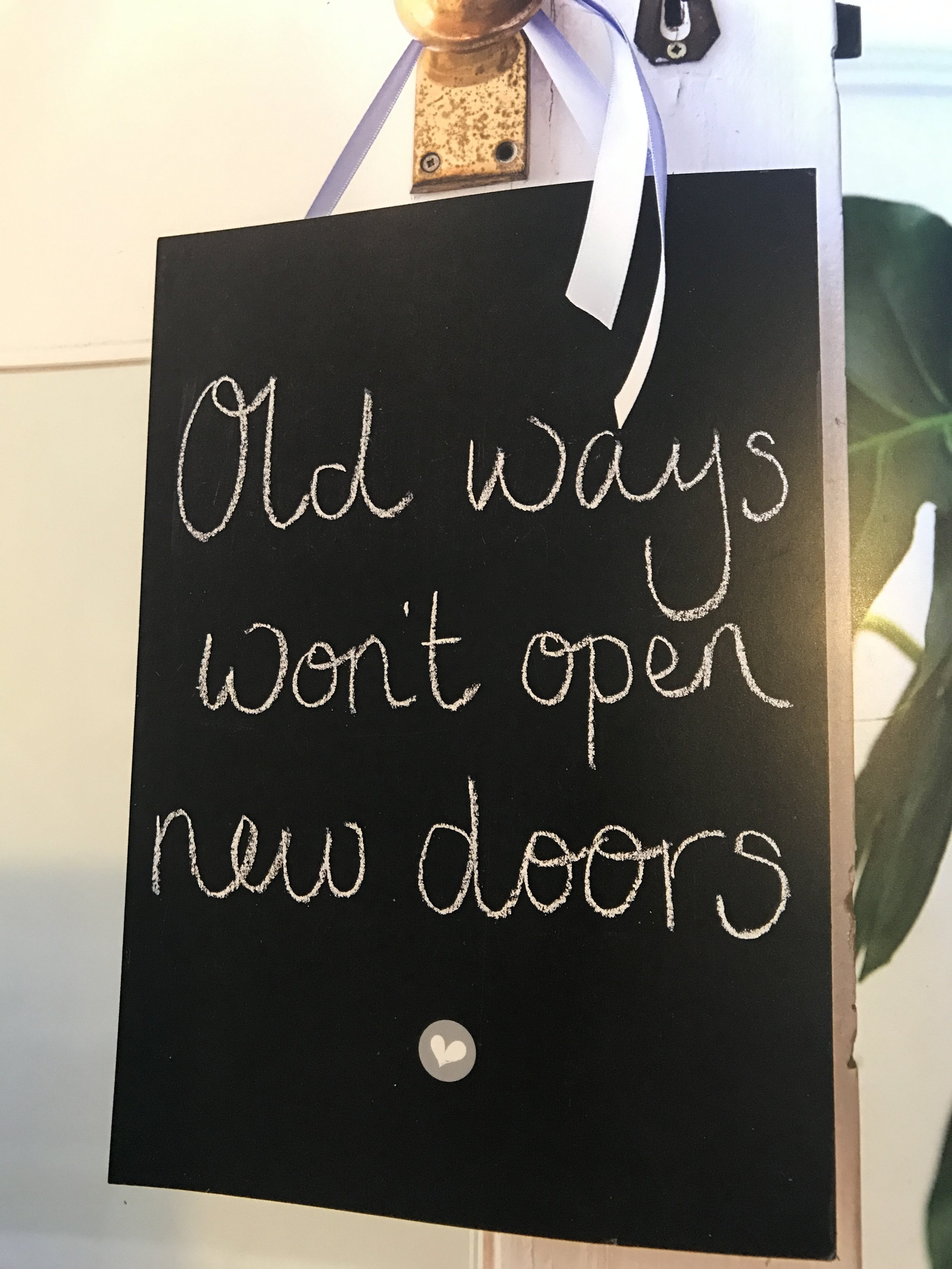 Try some 'new ways' this month!  Just see if new doors begin to open for you😊🙏🏻