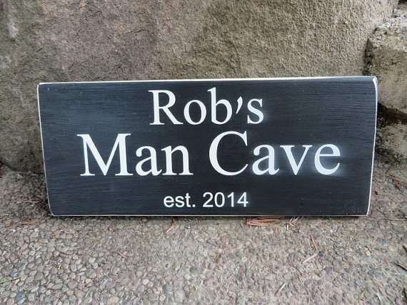 grandpas man cave sign