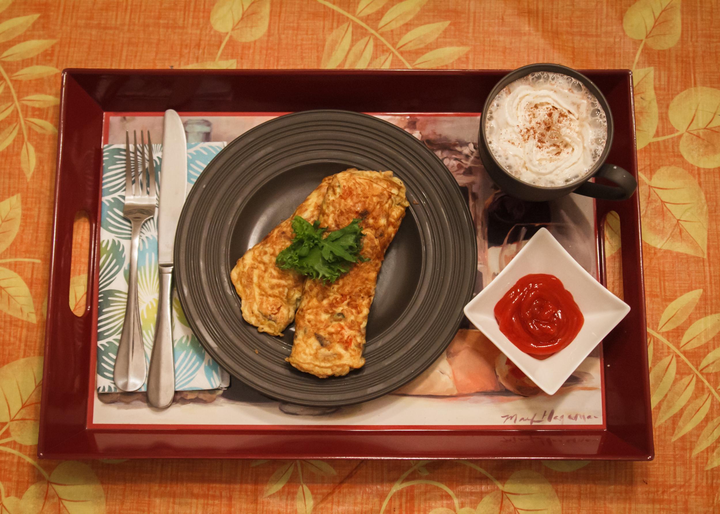 pregnancy friendly omelet recipe