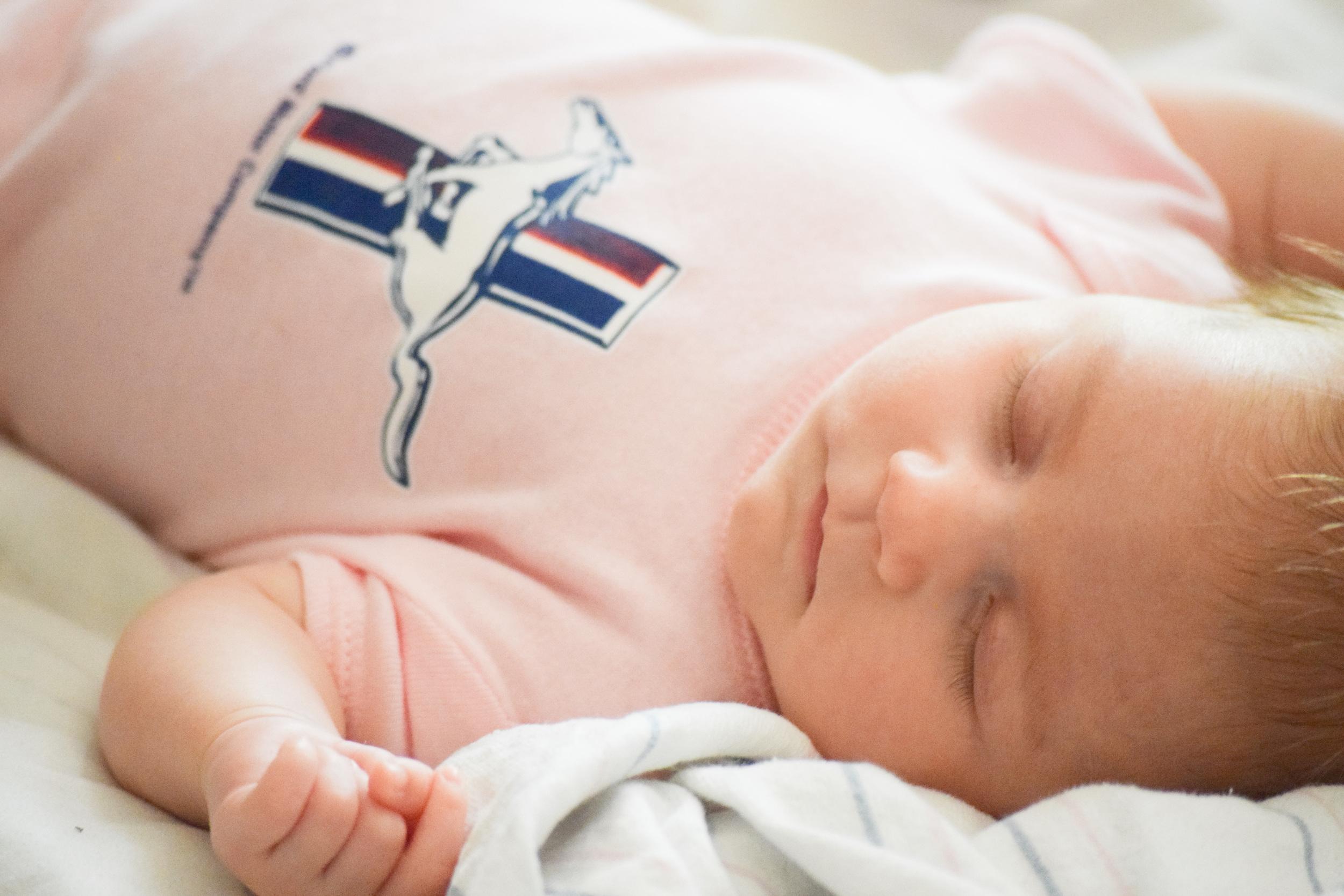 where should my newborn baby sleep