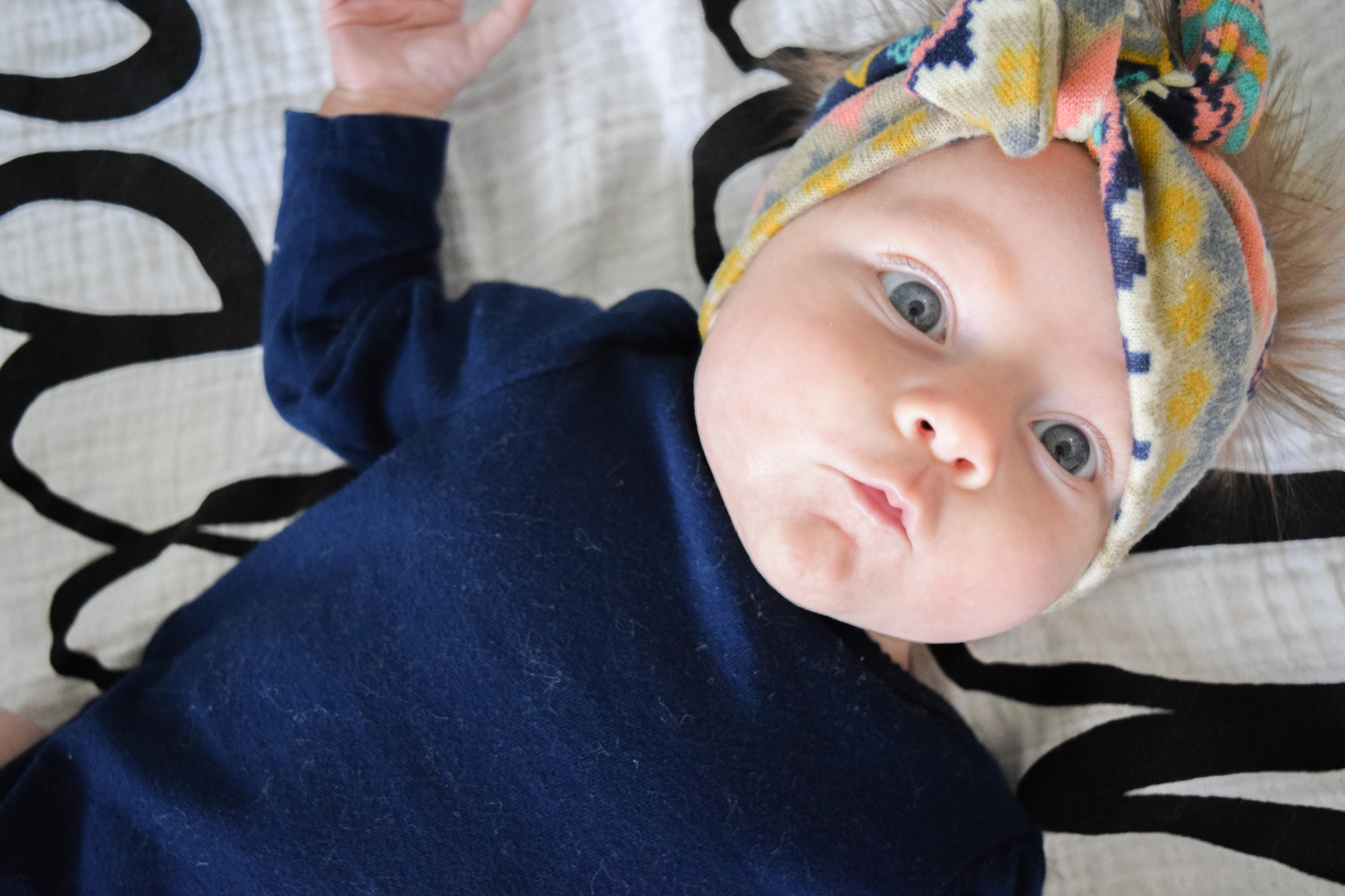 routine or schedule for a 2 month old baby