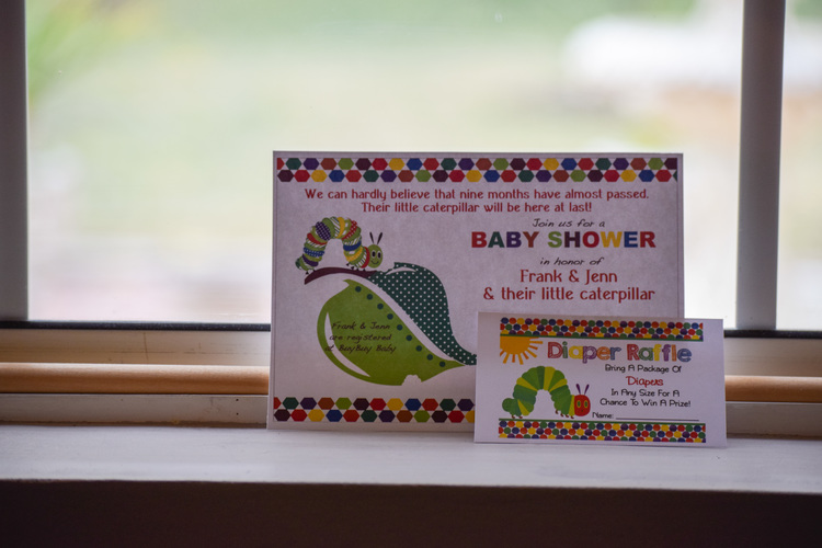 The Very Hungry Caterpillar Themed Baby Shower