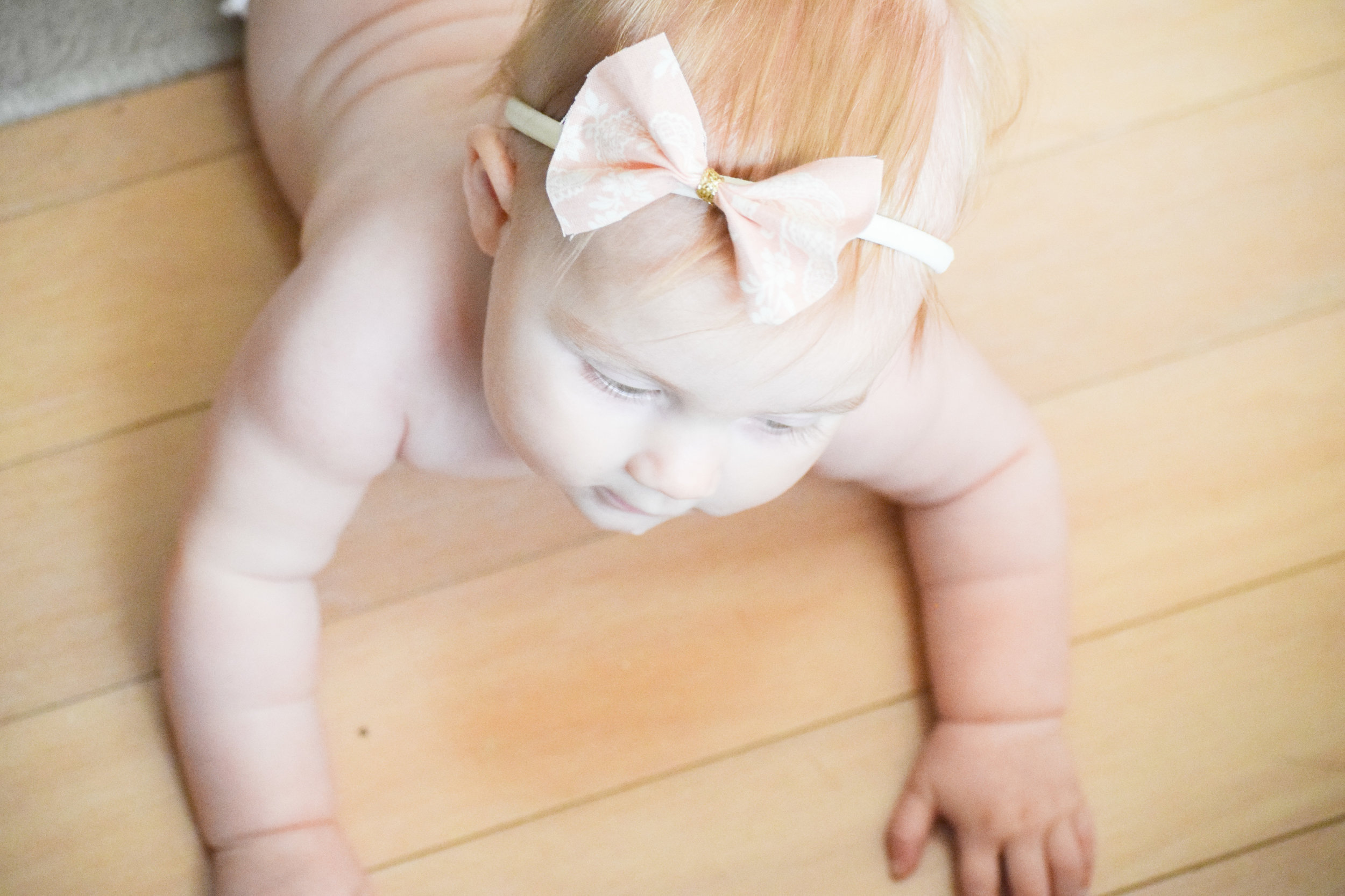Quick and Easy DIY BABY BOW TUTORIAL