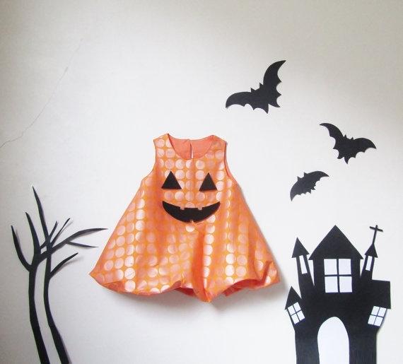 baby halloween costume ideas - baby halloween jackolantern costume