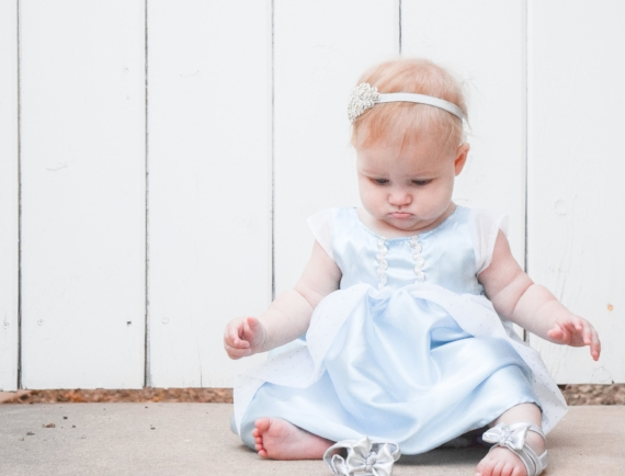 baby halloween costume - baby princess costume - baby cinderella costume
