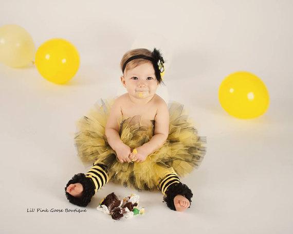 baby halloween costume ideas - baby bee costume