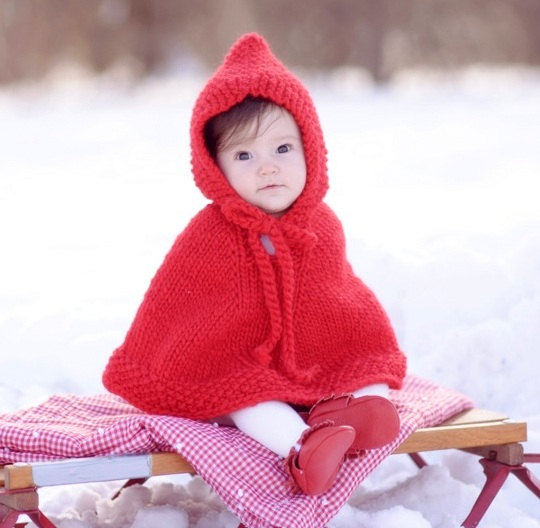 baby halloween costume ideas - baby little red riding hood costume