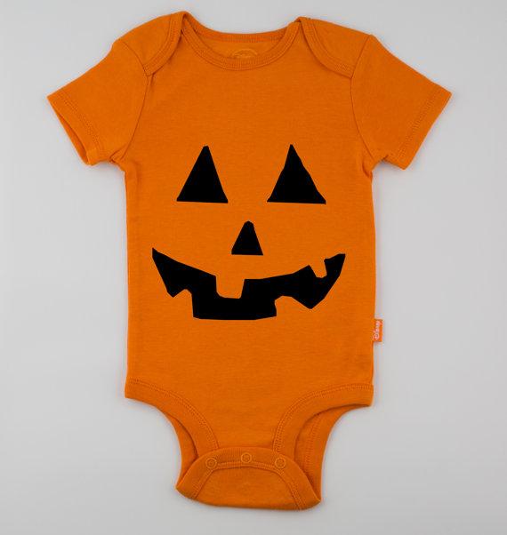 baby halloween costume ideas - baby jackolantern costume