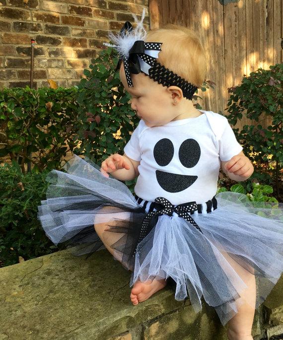 baby halloween costume ideas - baby ghost costume