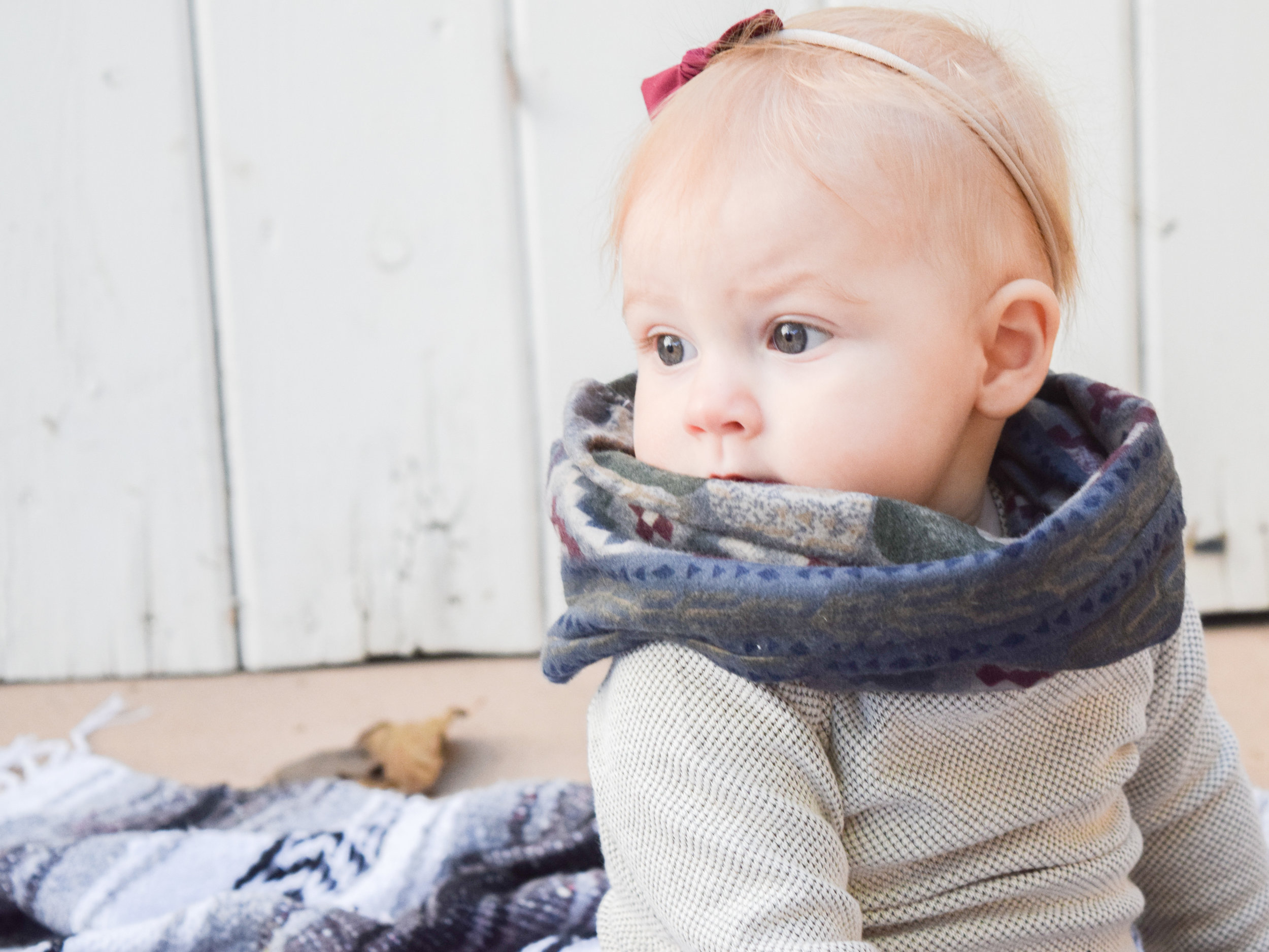 A HIP, FALL BABY OUTFIT