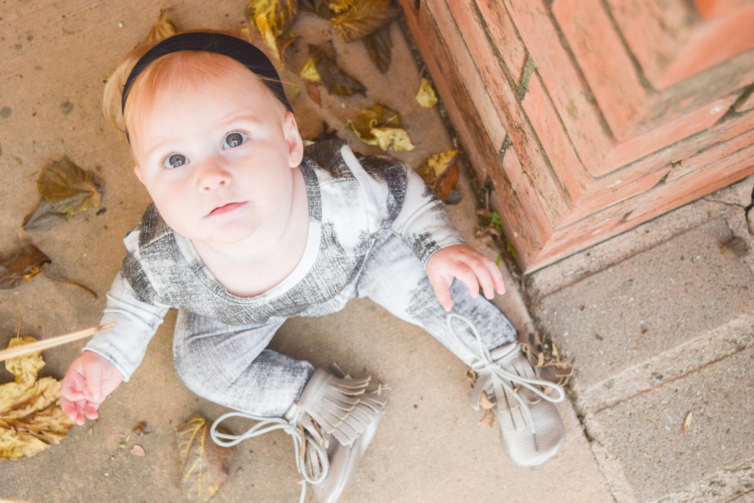FALL BABY FASHION   Unisex Baby Romper