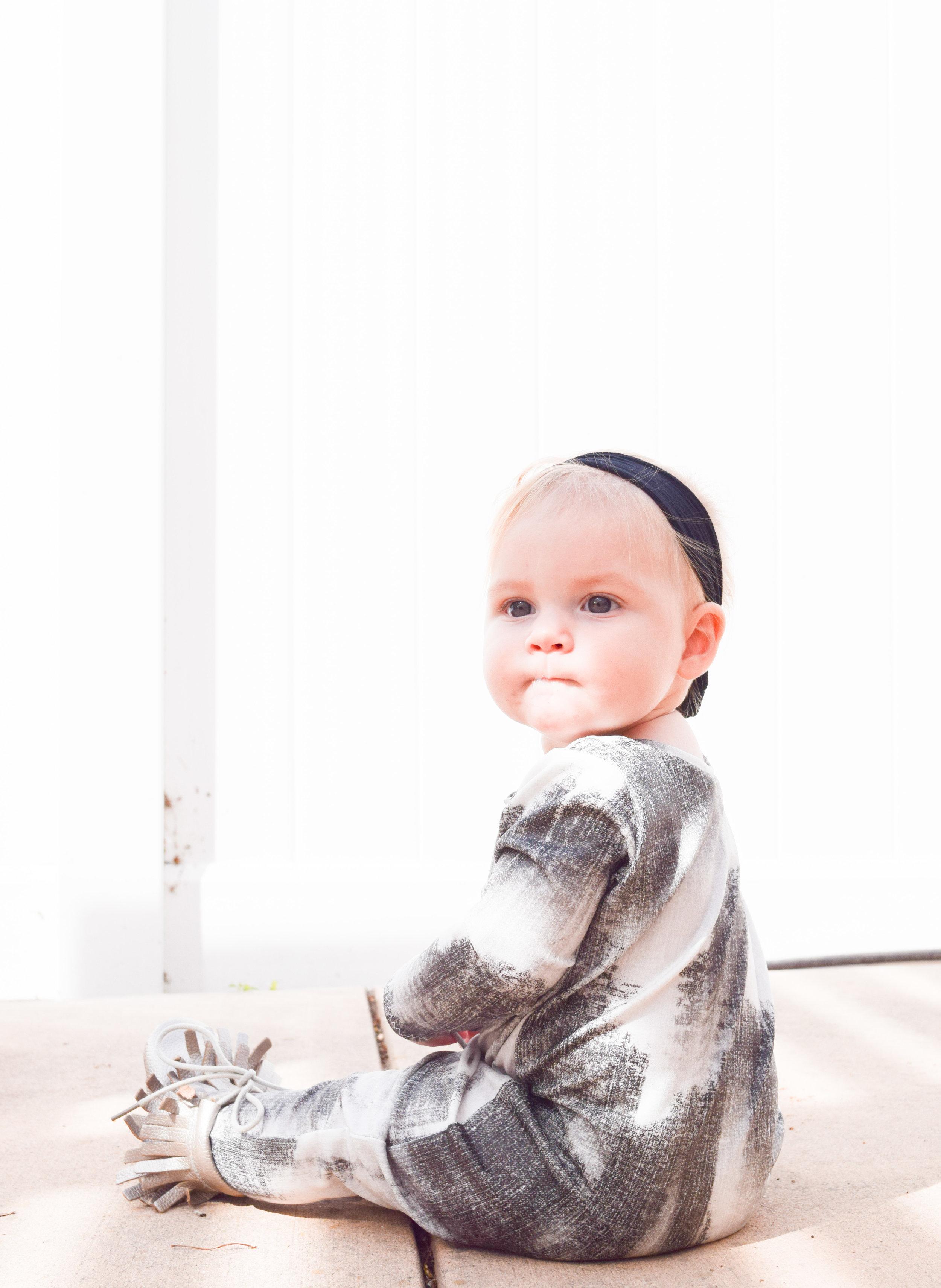 FALL BABY FASHION | Unisex Baby Romper