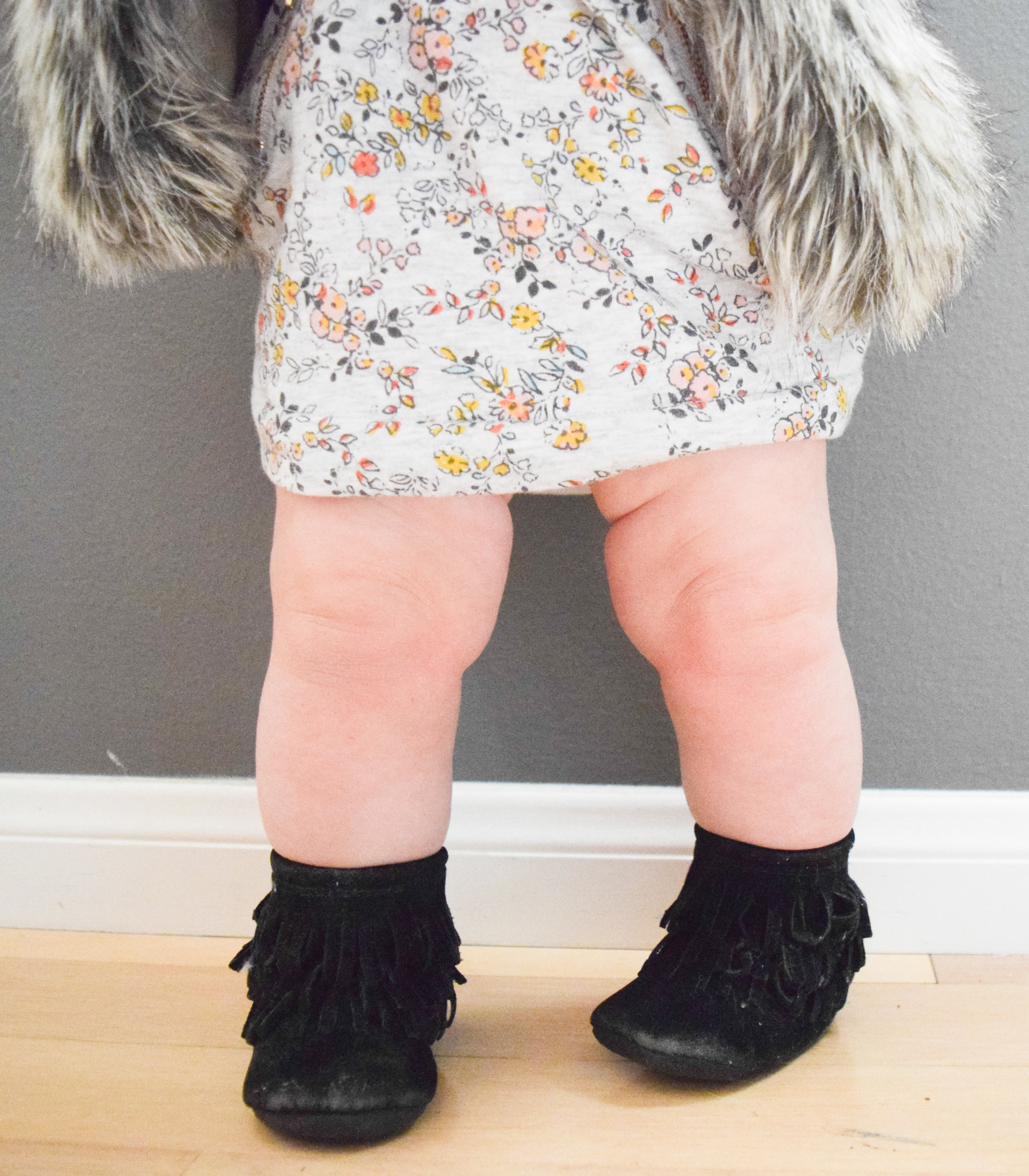 BABY FASHION | A casual fall baby outfit