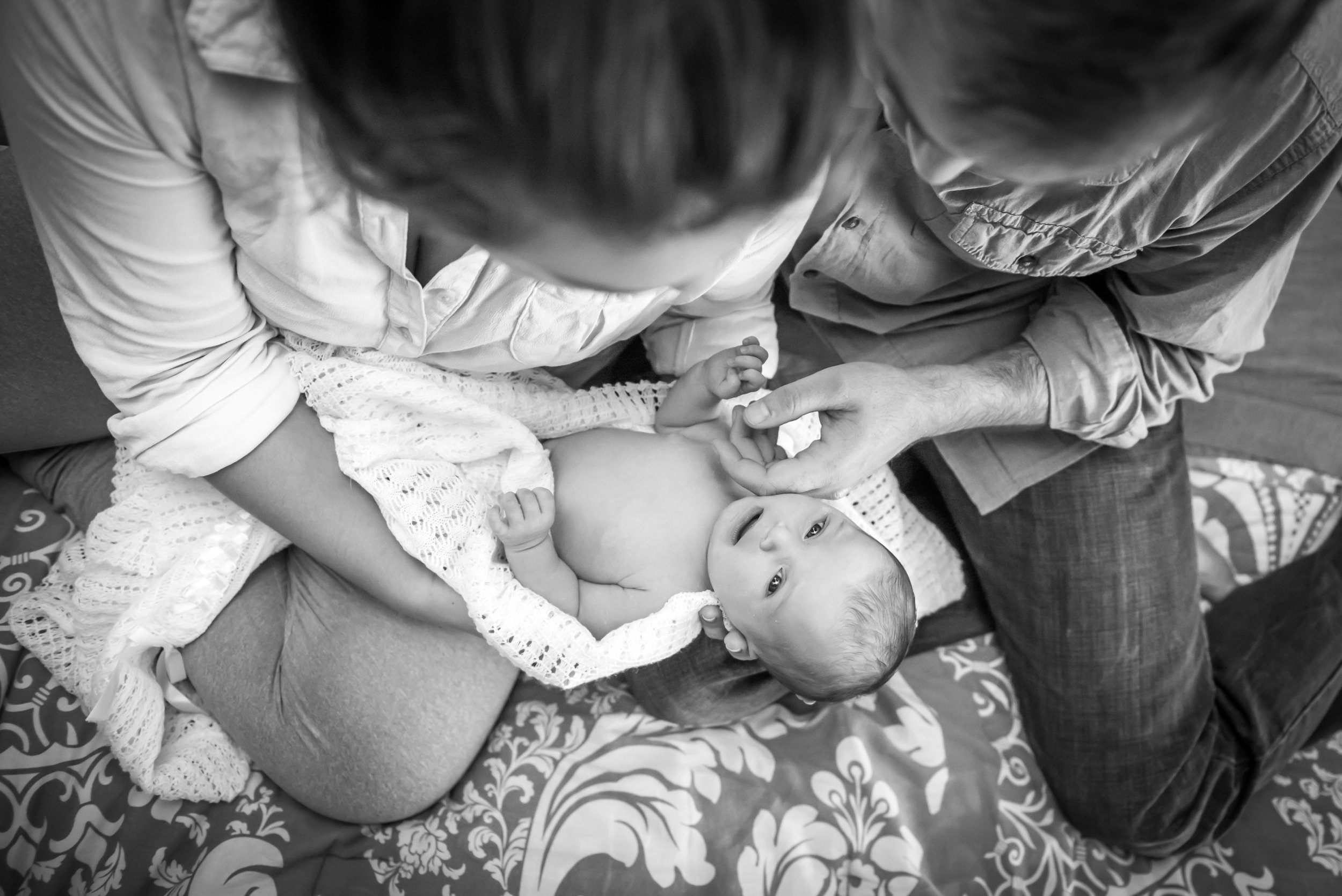 Family Newborn Photos - Reflecting Grace Photography