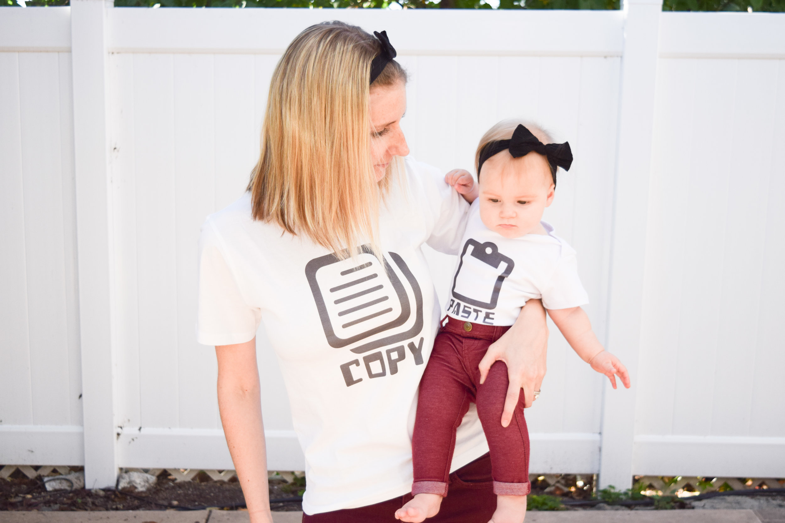 KIDS FASHION | Mommy + Baby Matching Tees