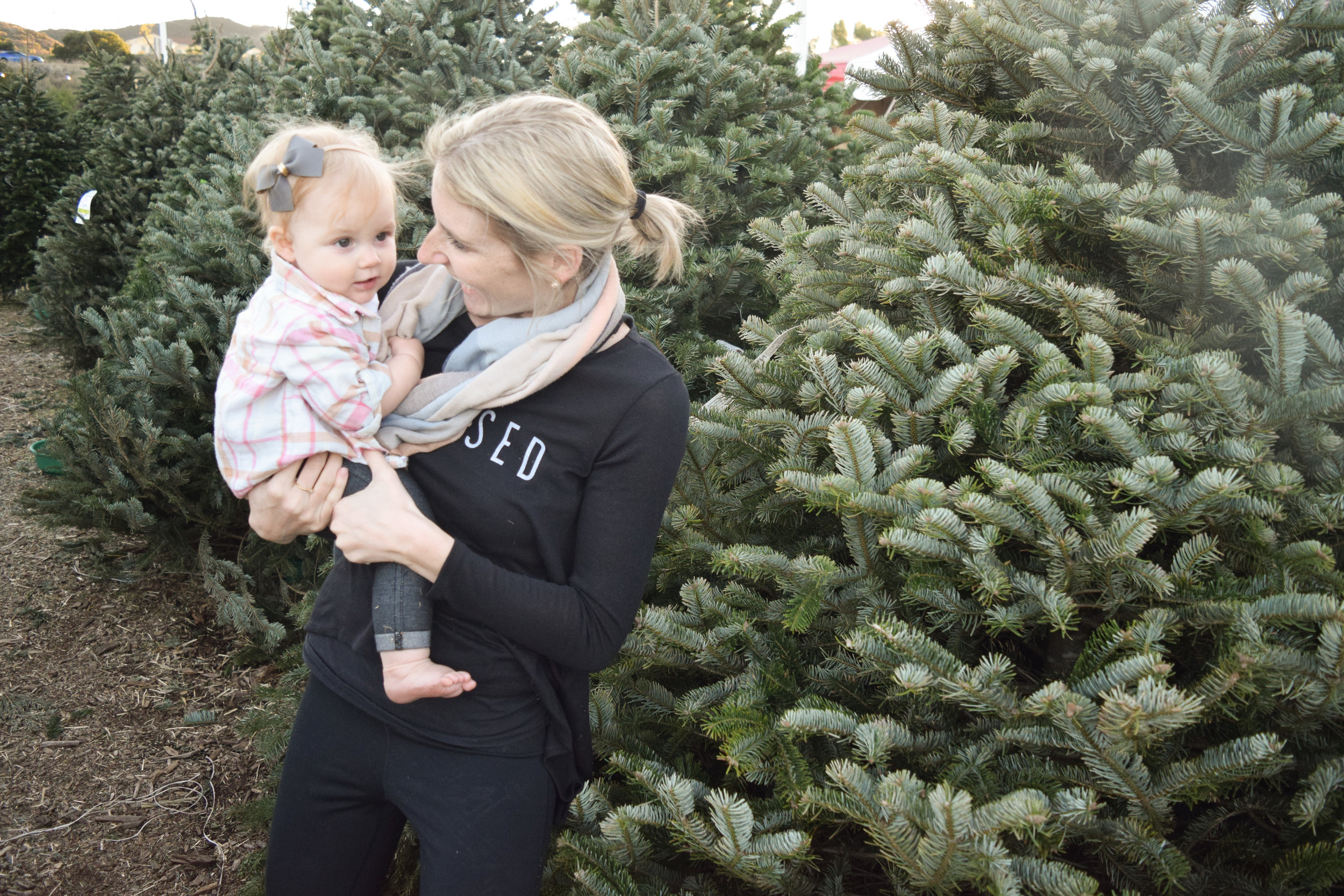 AVA'S FIRST CHRISTMAS TREE