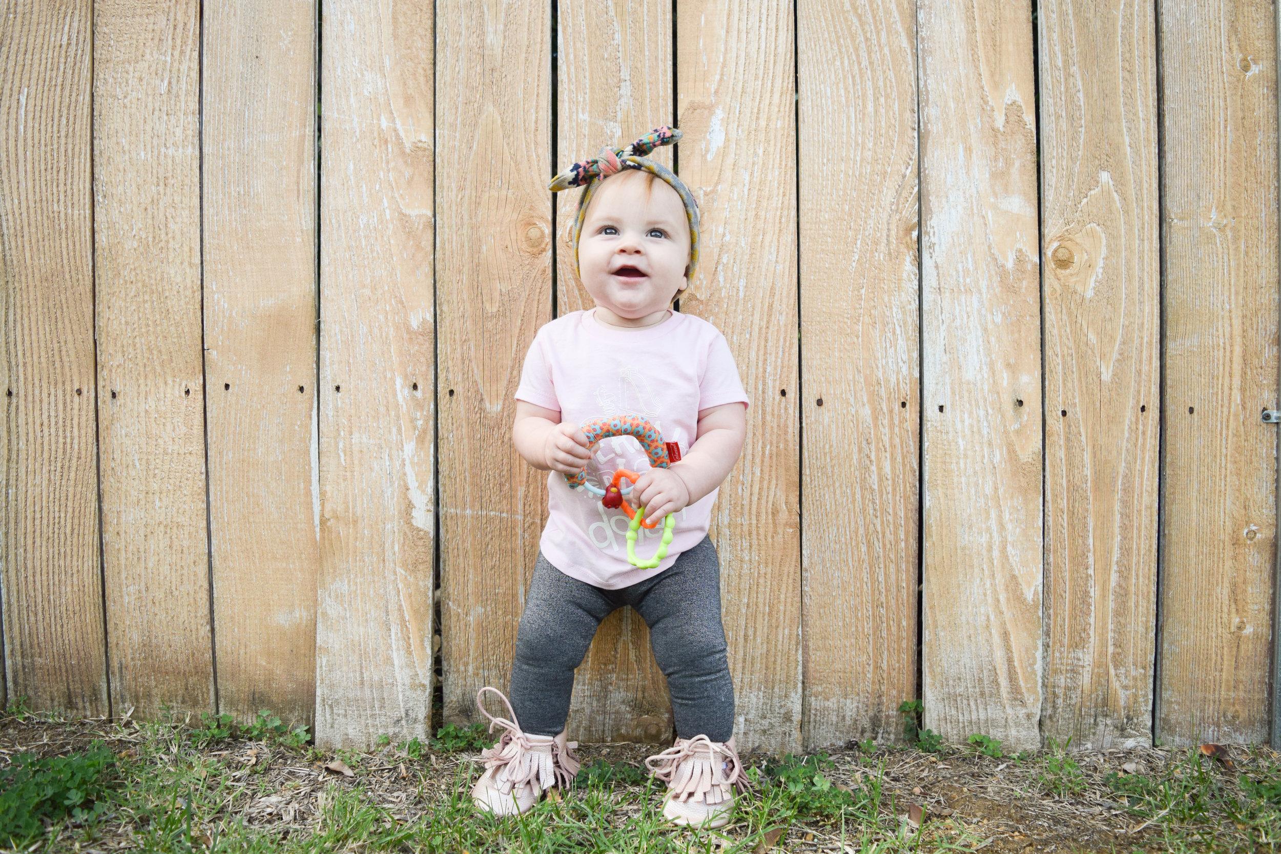 Funny Baby Tshirts - BABY FASHION | Serial Play Dater Baby T Shirt - Brooklynn & Grey