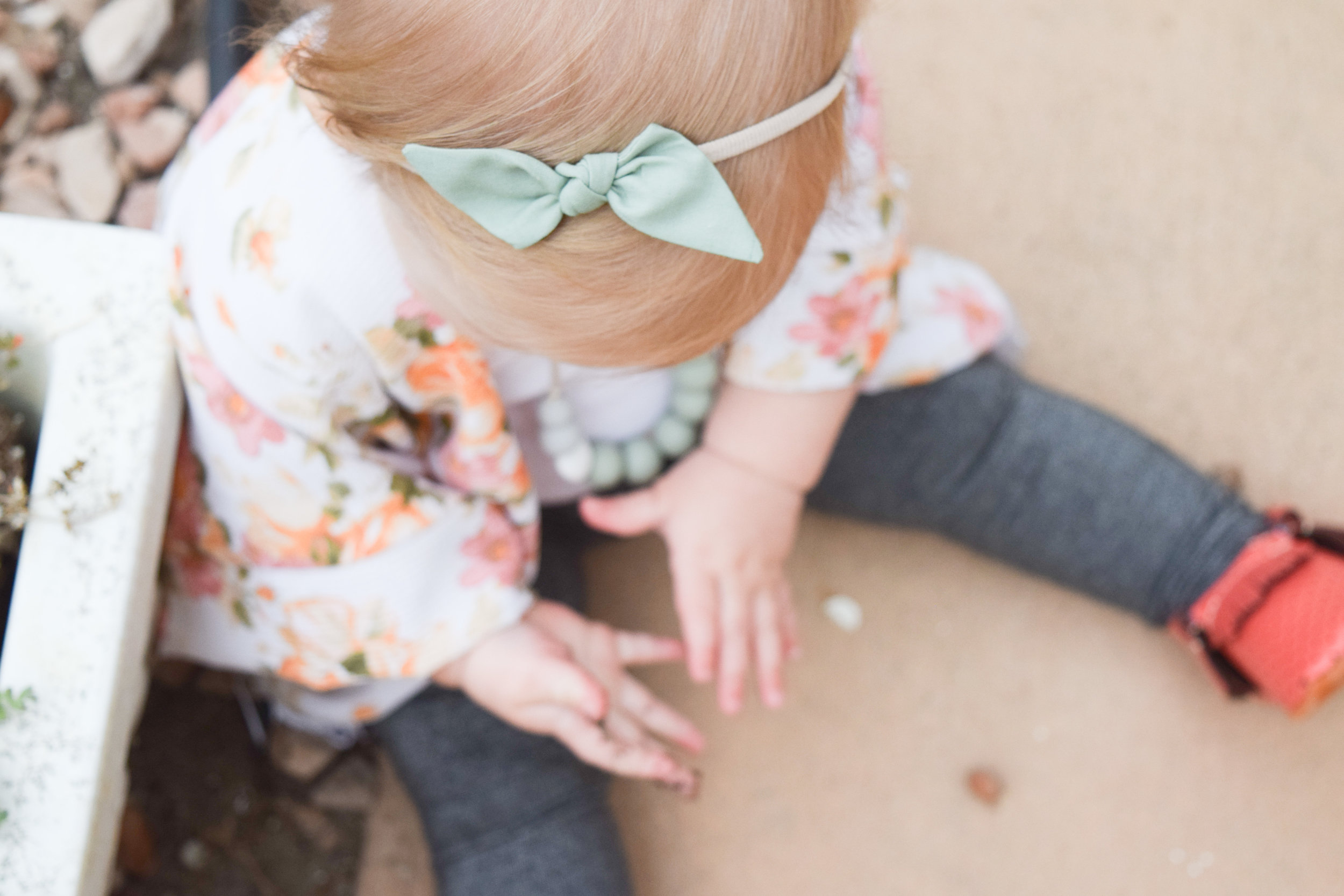 Baby Floral Kimono and Silver Baby Leggings