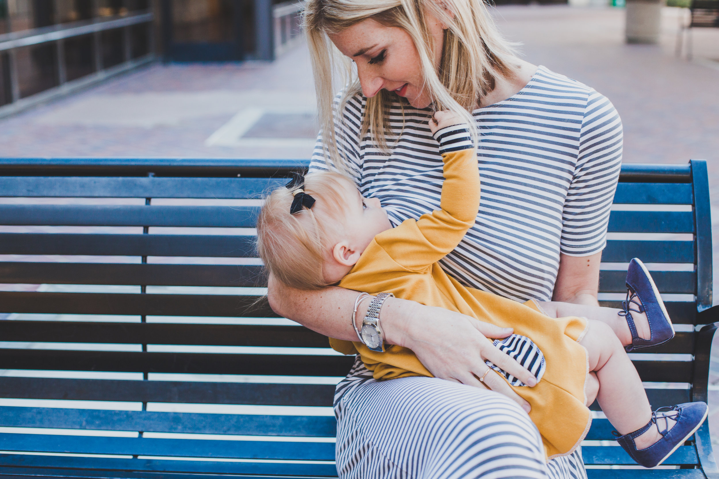 Cute Nursing Clothes - Nursing Dress - Undercover Mama - Briana Lindsey Photography