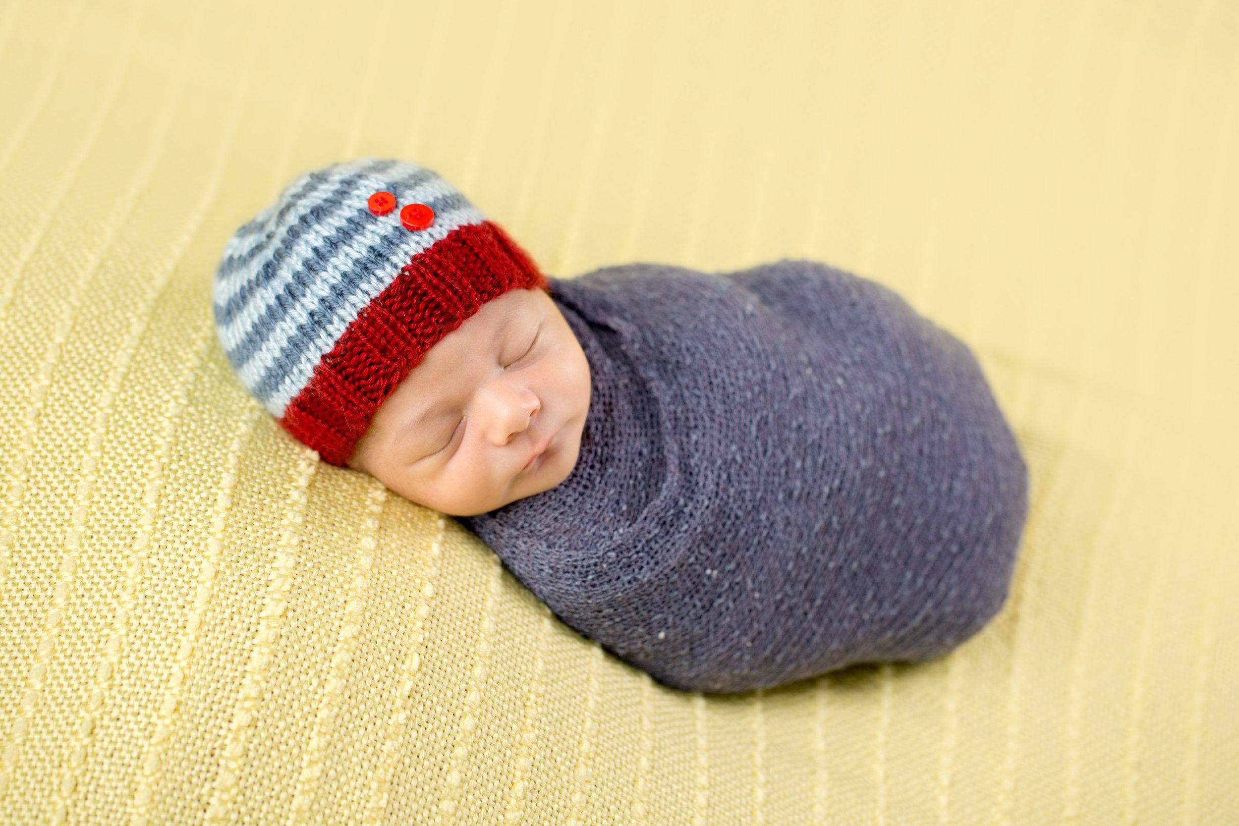 NEWBORN PHOTOGRPAHY | Solar System Themed Nursery, Colorful Newborn Photos