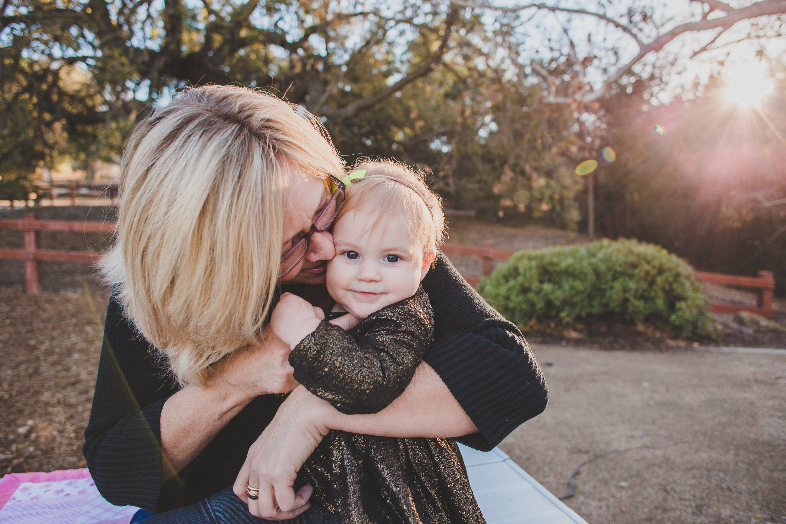 Holiday Gift Ideas for Grandma - Grandma + Me Photo Session by Briana Lindsey Photography