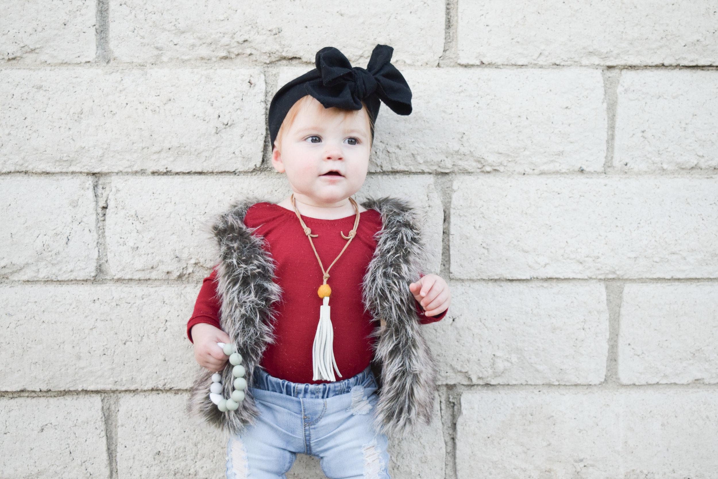 Baby Fashion - Baby Fur Vest