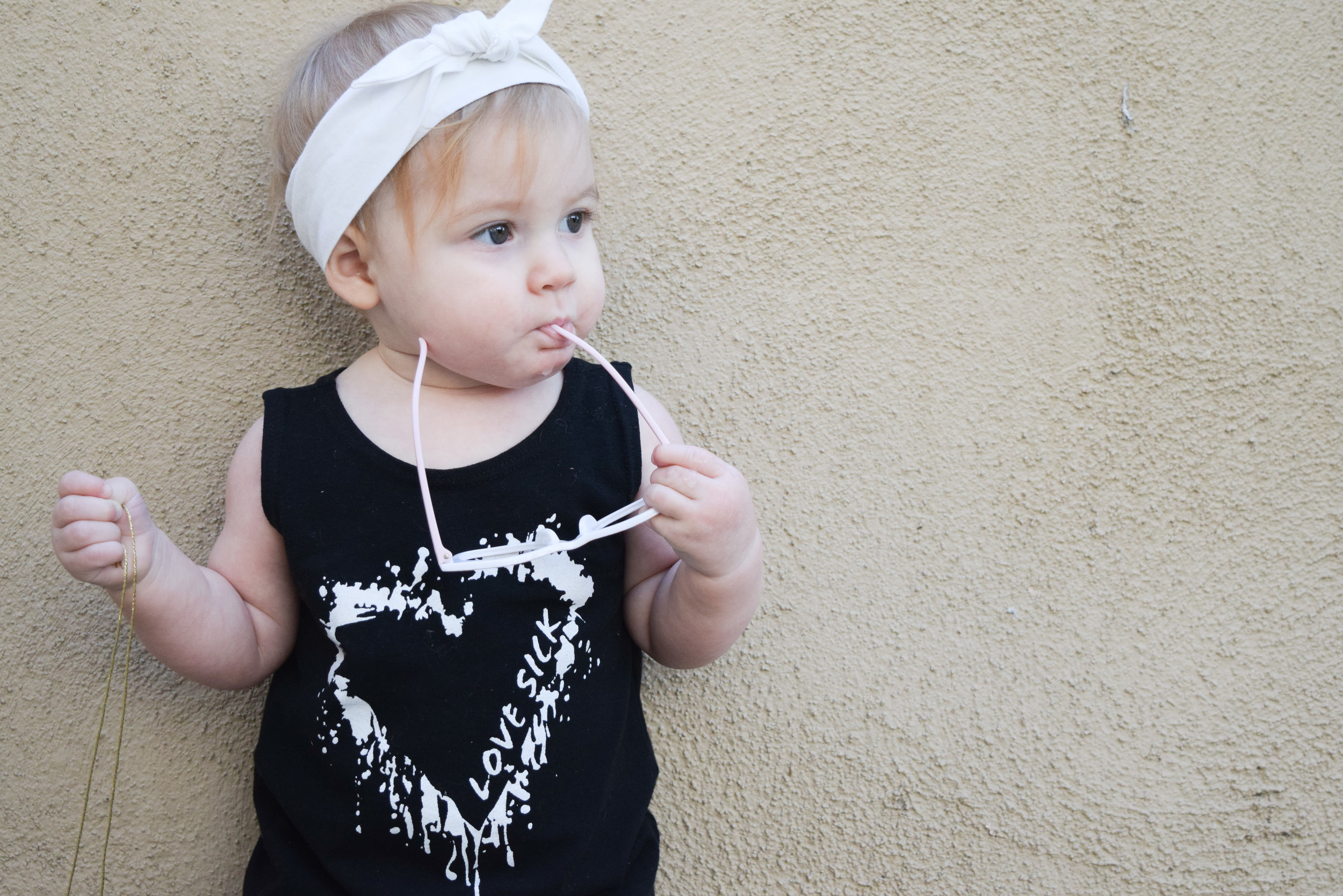 BABY FASHION | A High Low Heart Baby Dress from Love Sick Threads