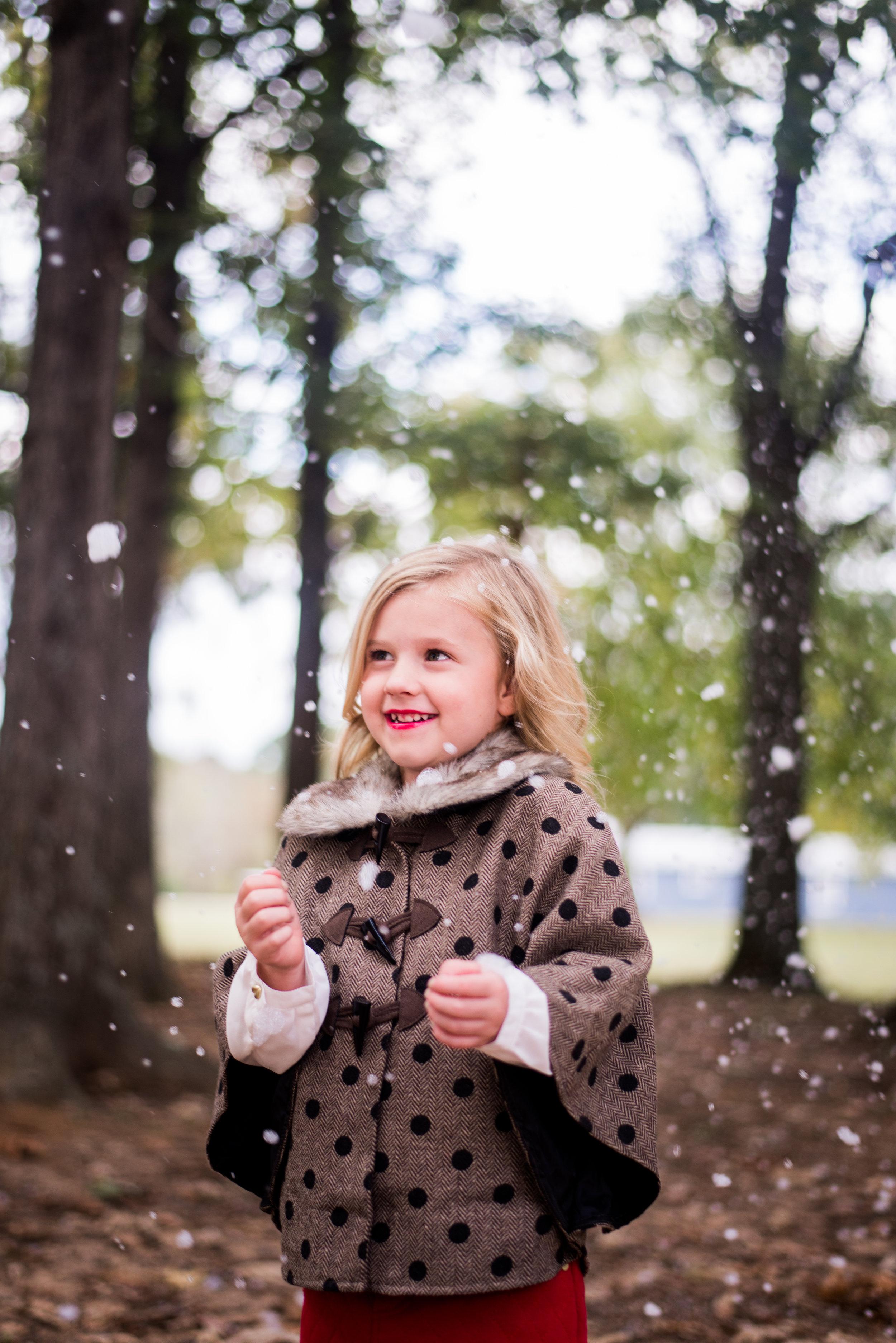 Arkansas Snow Family Photos - Natalie Smith Photography