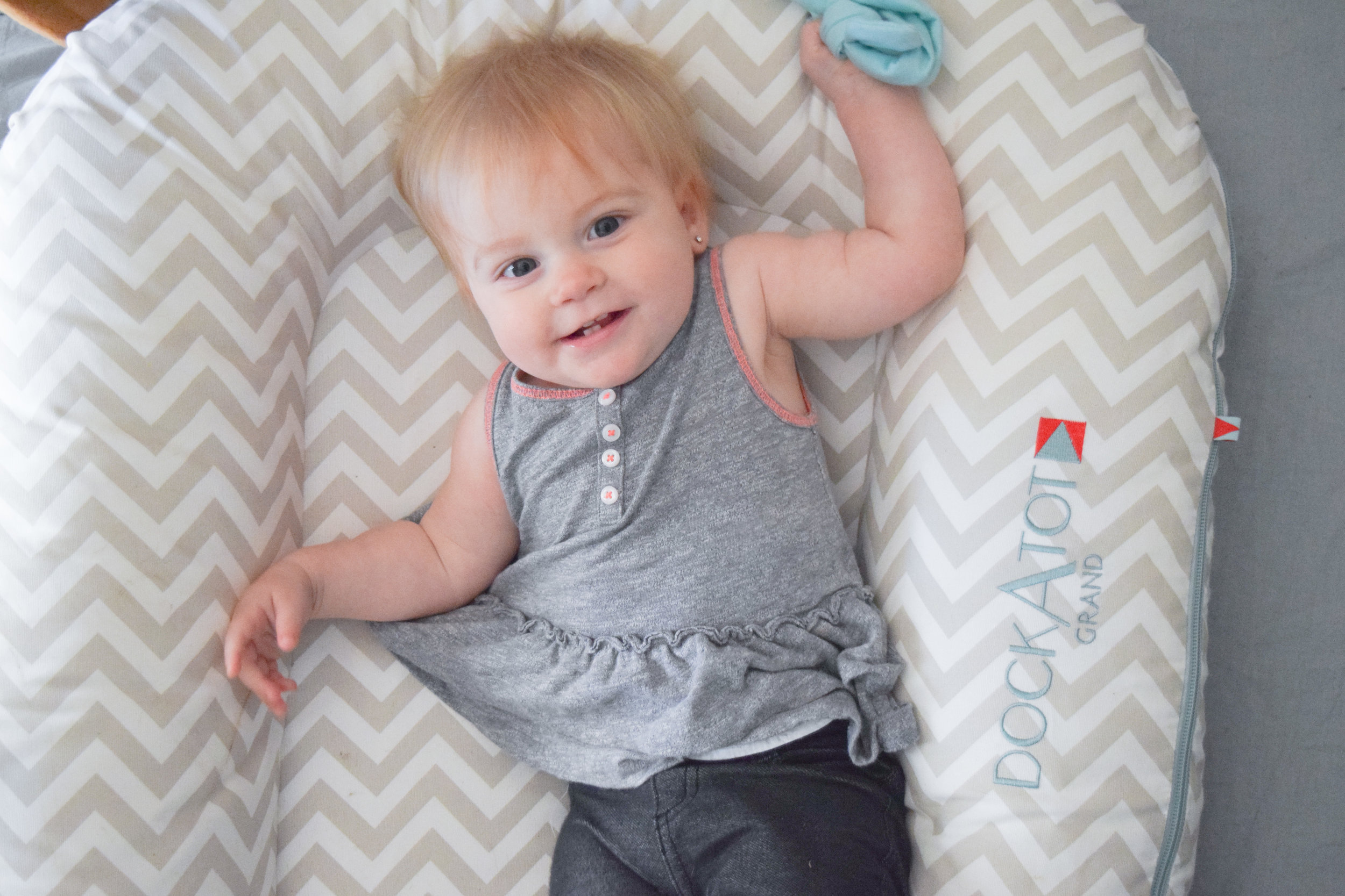 DockATot GIVEAWAY with The Overwhelmed Mommy - DockATot Grand Silver Lining