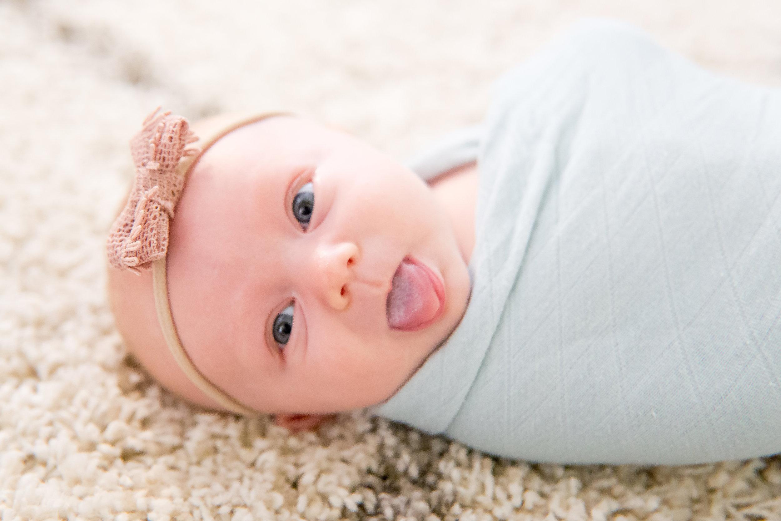 Minimalist Nursery Inspiration + Newborn Baby Girl Photos -- Lauren Alisse Photography