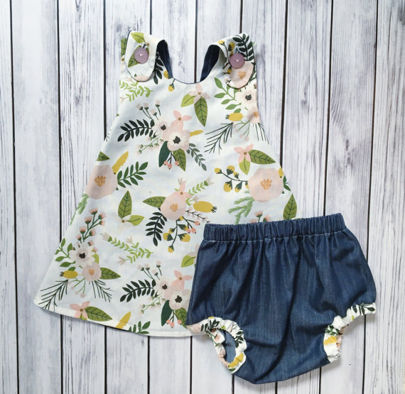 Floral Spring Baby Dress