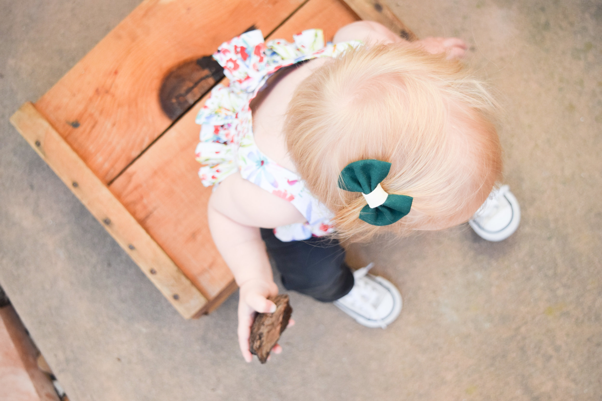 Baby Fashion - Baby Spring Floral Watercolor Crop Top - Baby Converse - Baby Skinny Jeans