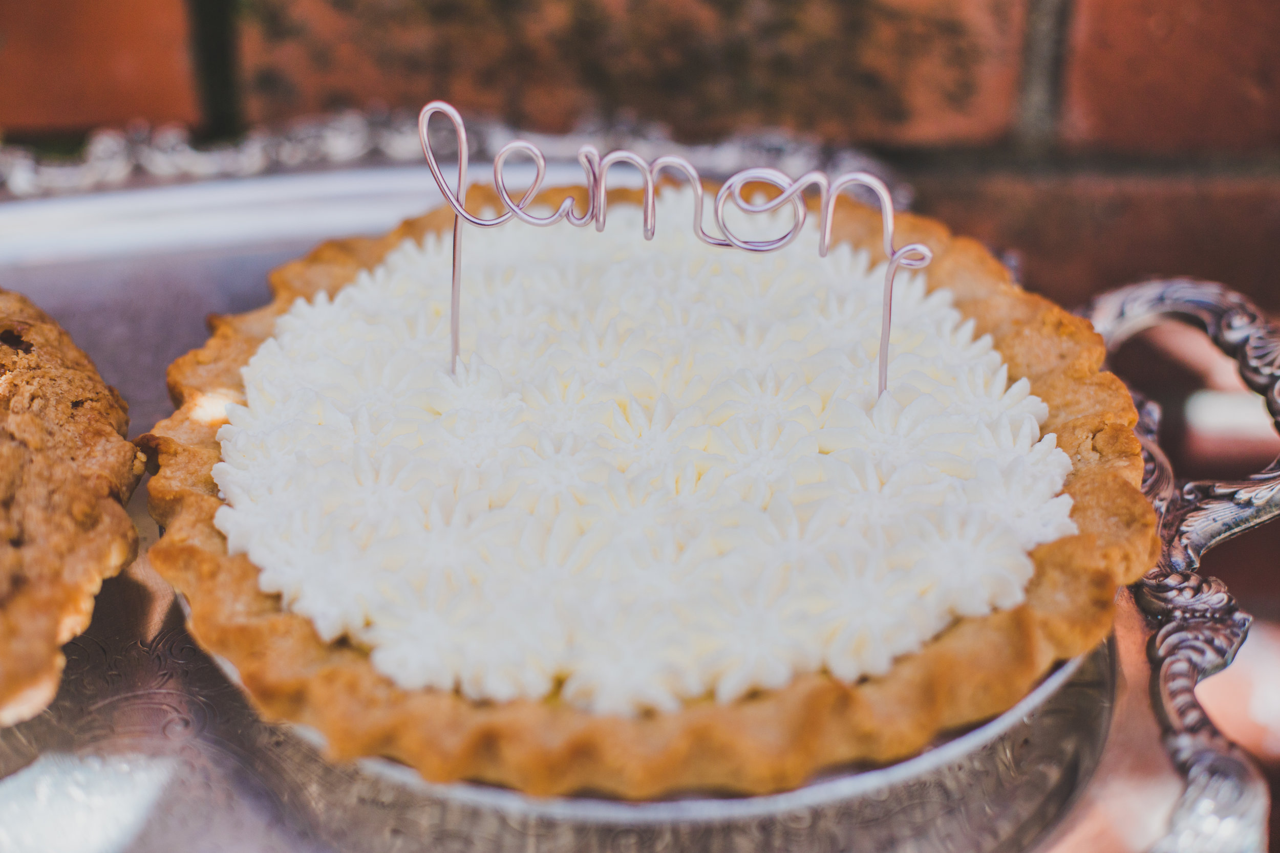 Vintage Pie Bar - First Birthday Cake Topper - A Vintage Chic Pi Day Themed 1st Birthday Party