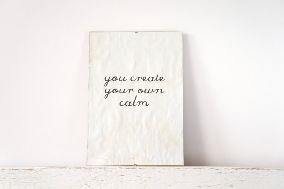 Inspiring Quote Home Decor
