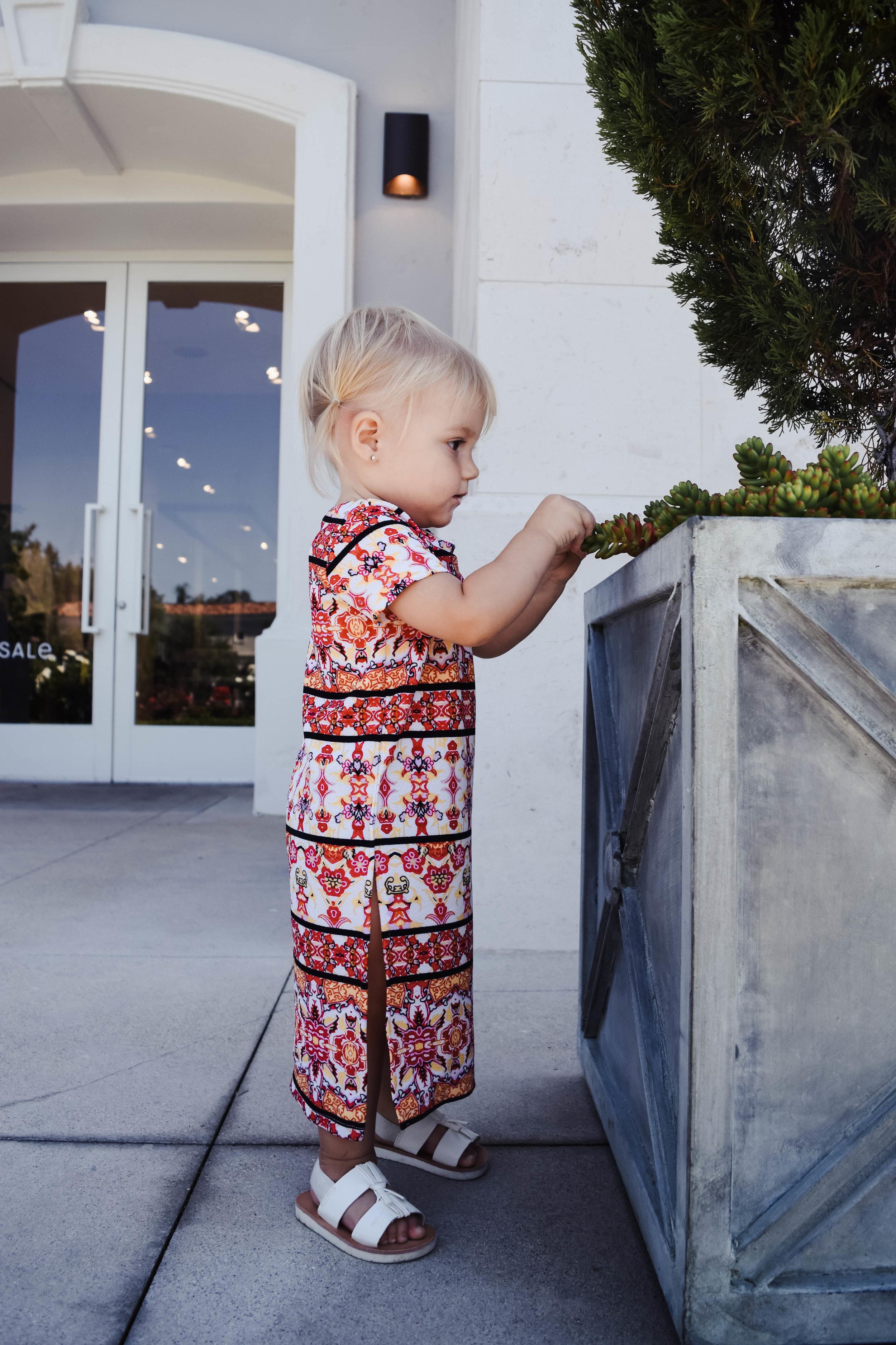 KIDS FASHION   Aztec Baby Maxi Dress - Modesty Handmade