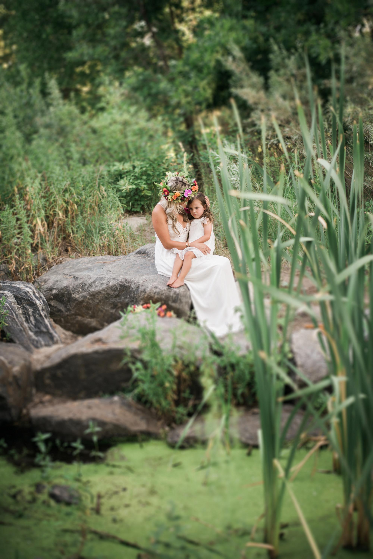 Sun Soaked Mother + Daughter Photos | Highlands Ranch, Colorado - Stephanie Ramsey Photography