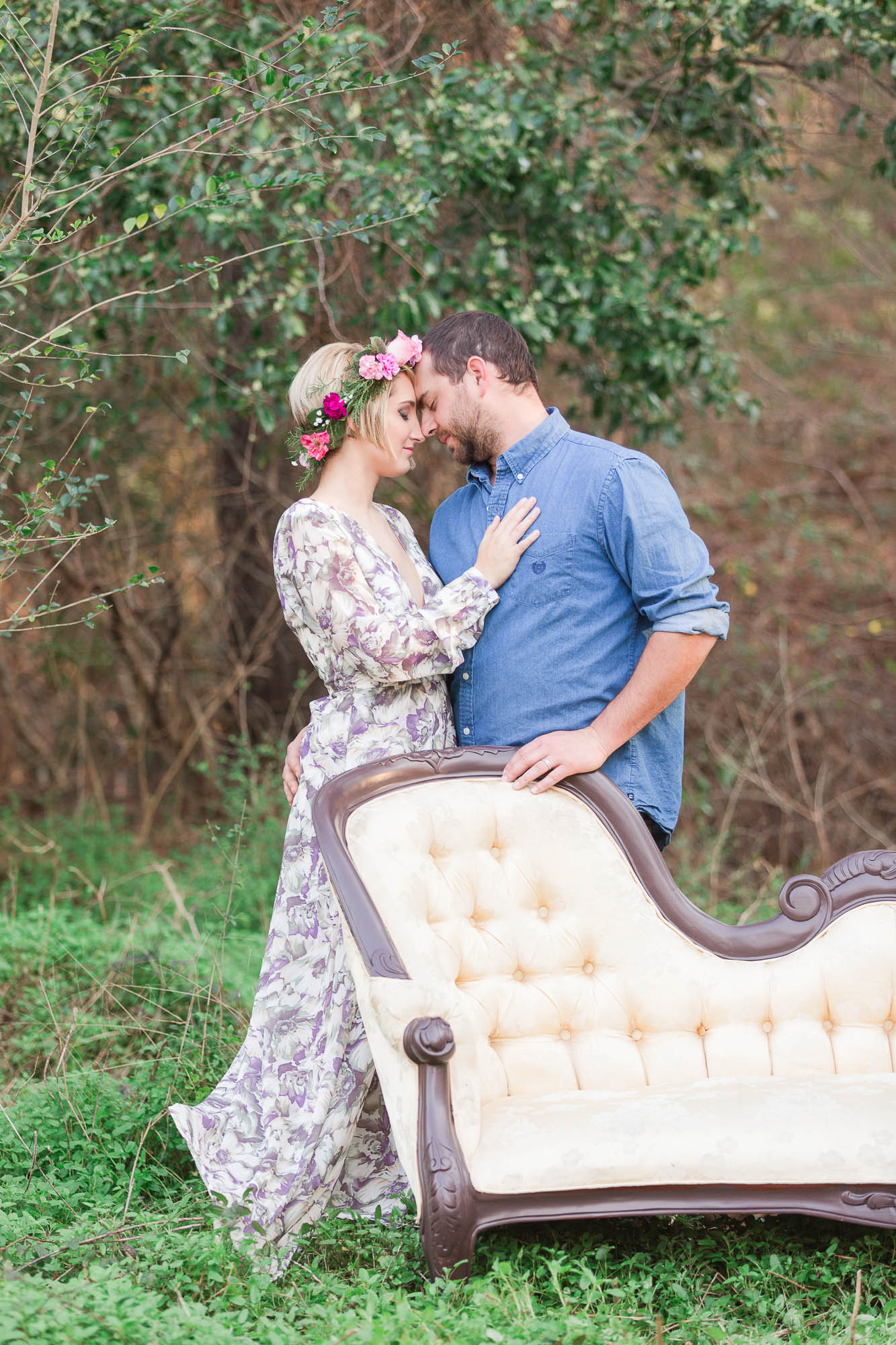 A Hidden Forest Spring Family Session - Rachel Strickland Photography