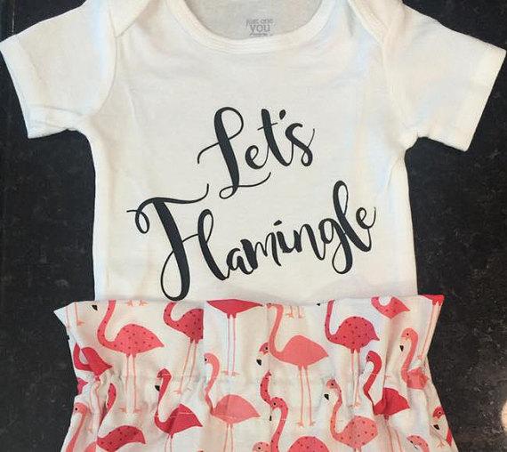 Flamingo Onesie - Lets Flamingle