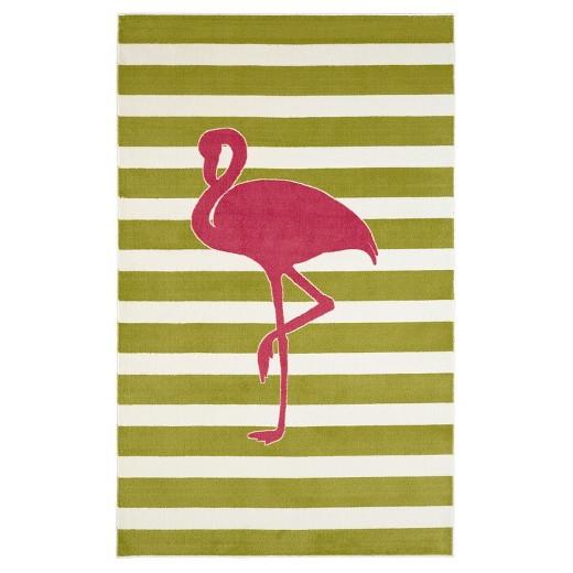 Flamingo Kids Room Rug