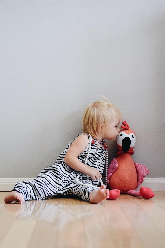 Flamingo Stuffed Animal - Flamingo Kids Pillow