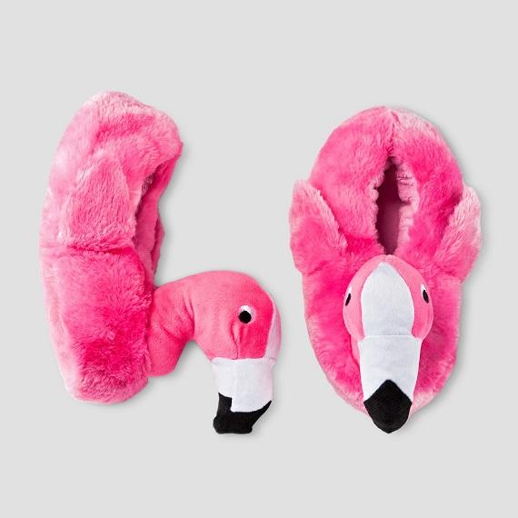 Kids Flamingo Slippers