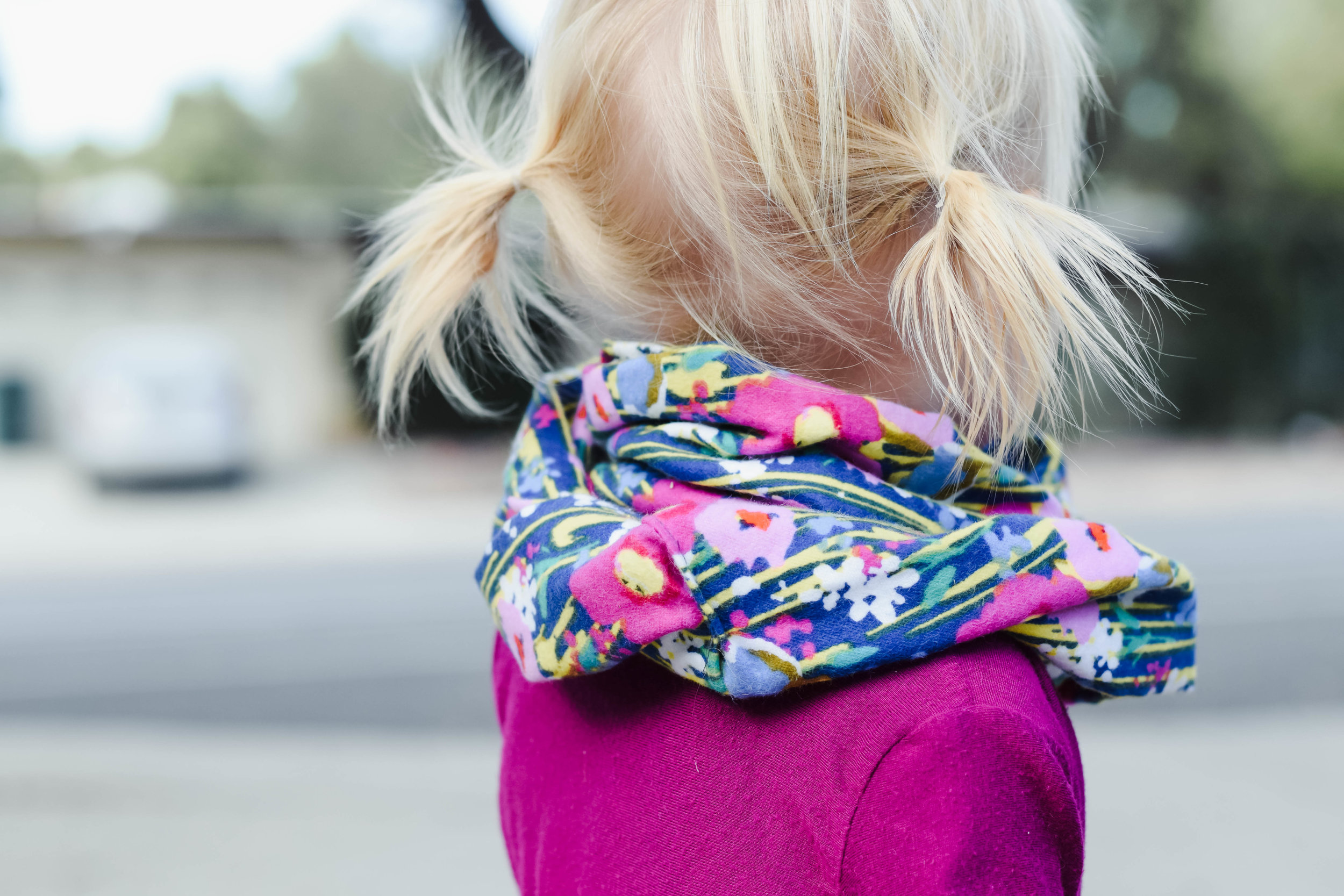 Wild Sunshine Threads - Floral Kids Infinity Scarves - Fall Baby Headwraps - Kids Fall Fashion Guide