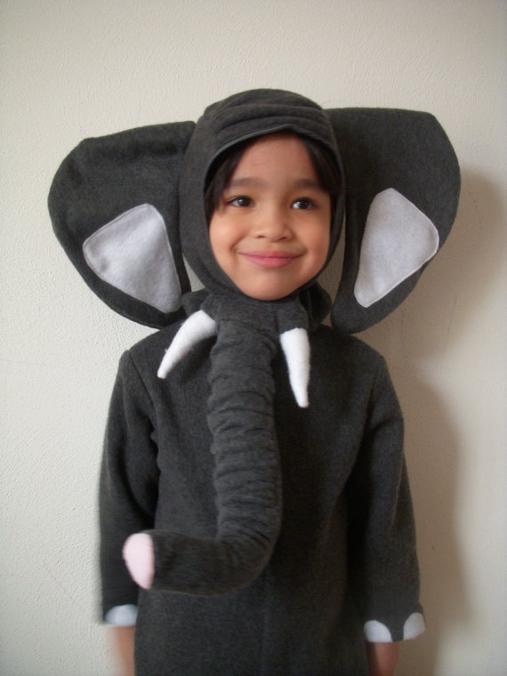 Kids-Baby Halloween Costume Ideas - Baby Elephant Costume - Mommy Blogger-Vlogger -- The Overwhelmed Mommy
